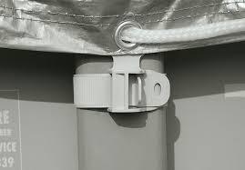 <b>Intex 28041 Тент</b> для каркасного бассейна Ultra Frame 549см ...