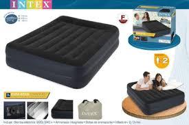 Двуспальные <b>надувные кровати Intex</b> со встроенным насосом и ...