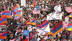 Thousands march in LA to mark anniversary of Armenian genocide