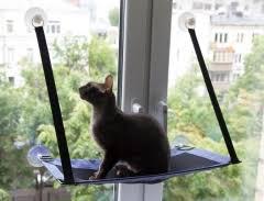 <b>Гамак на окно</b> для кошек с креплением - интернет-магазин ...