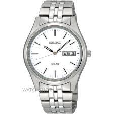 "men s seiko solar powered watch sne031p1 watch shop comâ""¢ mens seiko solar powered watch sne031p1"