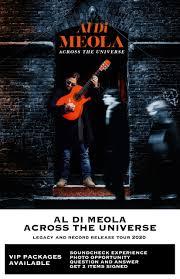 <b>Al Di Meola</b> – Across the Universe: Legacy and Record Release ...