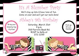 slumber party invitation templates com slumber party invitation templates best business template