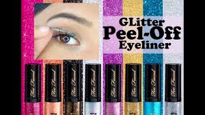 PEEL-OFF GLITTER LINER From <b>Too Faced</b>   Who Dis?? - YouTube