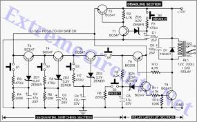 electronic circuitsintelligent electronic lock circuit diagram