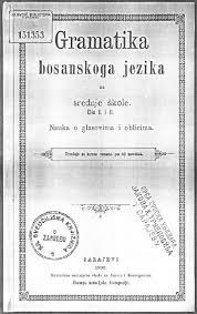 Língua bósnia