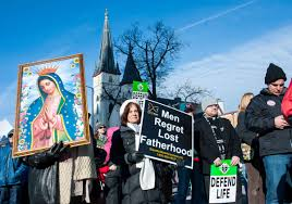 move the culture by persuasion anti abortion activists urged at walk for life signs