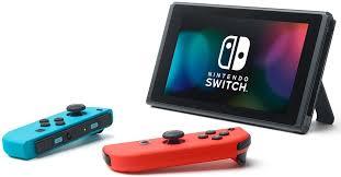 <b>Игровая</b> консоль <b>Nintendo</b> Switch ConSWT2, Red Blue Neon ...