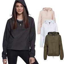 <b>Urban Classics Ladies</b> - PULL OVER Winterbreaker Jacke | Fruugo ...