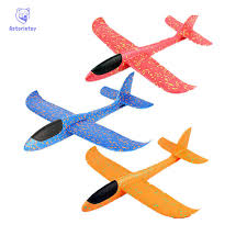 <b>35cm</b> Airplane <b>Hand Launch Throwing</b> Glider Aircraft Inertial Foam ...
