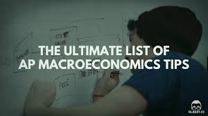 the ultimate list of ap macroeconomics tips io