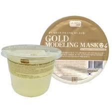 <b>Моделирующая маска</b> с частицами золота <b>альгинатная</b> La Miso