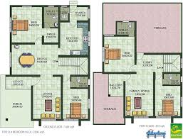 Galaxy Homes   Villas and Apartments    Kochi  amp  Kozhikode   Green    Villa Type D