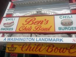 Image result for obama at ben's chili bowl
