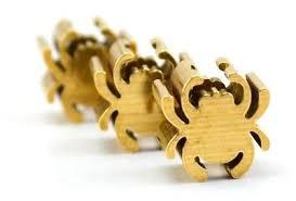 spider Shape <b>brass</b> Paracord Beads Lanyard Bead <b>Knife</b> Zipper ...