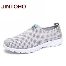 JINTOHO Unisex Summer Breathable Mesh <b>Men</b> Shoes Lightweight ...