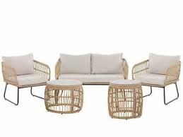 Beige Garden & <b>Patio Furniture</b> Sets | eBay