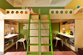 view in gallery mirrored loft beds for two siblings bunk bed steps casa kids