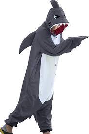 wotogold Animal <b>Shark</b> Pajamas Unisex Adult <b>Cosplay Costumes</b> ...
