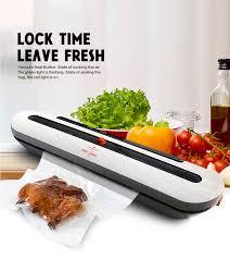Kitchen <b>Vacuum Sealer</b> Machine <b>Food Saver 110V 220V</b> Electric ...