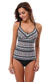 <b>Women's Tankini Swimsuits</b> - <b>Attraco Womens</b> Aztec <b>Tankini Set</b> ...