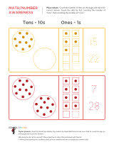 Place Value Worksheets - School SparksKindergarten worksheets - Place values - Beginning 2