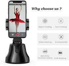 Portable <b>All</b>-in-<b>one Smart</b> Selfie Stick, 360° Rotates <b>Auto</b> Face ...
