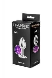 <b>Анальная пробка Diamond Purple</b> Sparkle Small 4009-05Lola ...