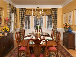 Stripping Dining Room Table Modern Nice Design Of The Bay Window Valance Rod That Has Stripped