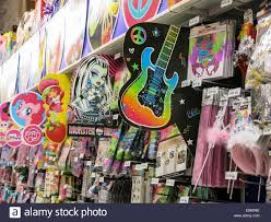 props shop stock photos props shop stock images alamy party city store interior nyc stock image