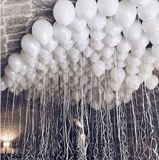 <b>30pcs</b>/<b>lot</b> 2.2g Pearl Black White Silver Latex Balloons Birthday ...
