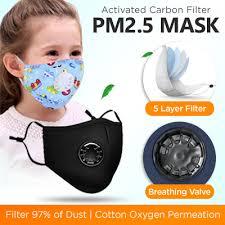 Qoo10 - <b>ADULT Cotton PM2</b>.<b>5</b> Black <b>mouth</b> Mask anti dust mask ...