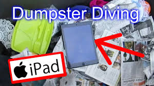 dumpster diving at thrift store apple ipad dumpster diving at thrift store 17 apple ipad