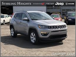 Used 2017 Jeep New Compass For Sale at Sterling Heights Dodge ...