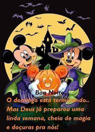 Pin de Cecilia Camargo em Boa Noite   Dia das bruxas, Mickey ...