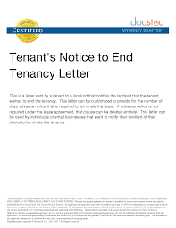 notice of lease termination letter from landlord to tenant sample lease letter from landlord to tenant best resume examples