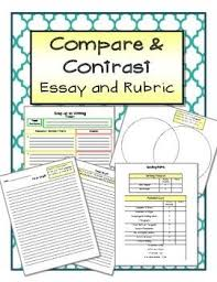 Compare Contrast Essay Rubric GRADE POINTS         THESIS     Free Essays and Papers