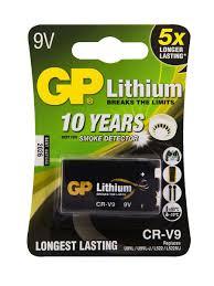 Литиевая батарейка 9V (CR-V9) <b>Крона</b>, 1 шт. GP 6914430 в ...