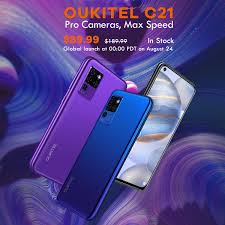 <b>Oukitel C21</b> with <b>Helio P60</b> SoC, FHD+ display and AI Matrix ...