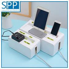 Multipurpose <b>Gadget Cable Organizer</b> Box