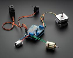 Adafruit <b>Motor Shield</b> V2 for Arduino