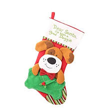 FunPa <b>Christmas Stocking Creative</b> Lovely Dog Cat Gift Bag ...