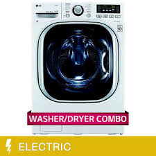 LG All-in-One 4.2CuFt <b>Ultra Large Capacity</b> Washer and ELECTRIC ...