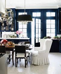 embellishments cobalt blue kitchen chair