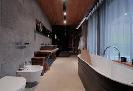Small Picture 15 Bold Bathroom Designs with Concrete Walls Rilane