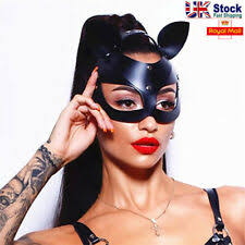 Women's <b>Leather</b> Costume <b>Masks</b> & Eye <b>Masks</b> for sale | eBay