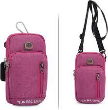 Running Armband Phone Holder Passport Travel <b>Wallet Bag</b> Money ...