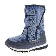 Gray Womens <b>PU</b> Plush Fur Waterproof Frosty <b>Winter Warm</b> Mid ...