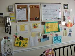 Kitchen Message Center How To Organize Your Life With Paint Babycenter Blog