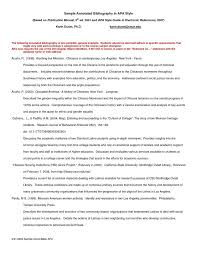 Writing service for you   Example of annotated bibliography for